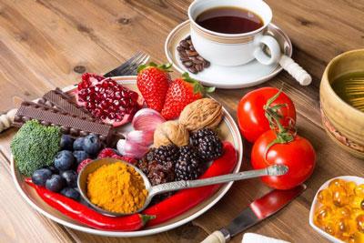 مواد غذایی سرشار از آنتی اکسیدان, میوه ها و سبزیجات