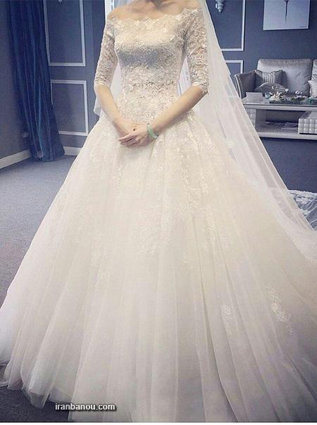 مدل لباس عروس پرنسسی,لباس عروس ایرانی جدید,لباس عروس پفی,مدل لباس عروس ایرانی,لباس عروس دانتل