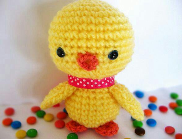 آموزش بافت عروسک اردک