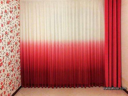 مدل پردهای ساده حریر اتاق خواب