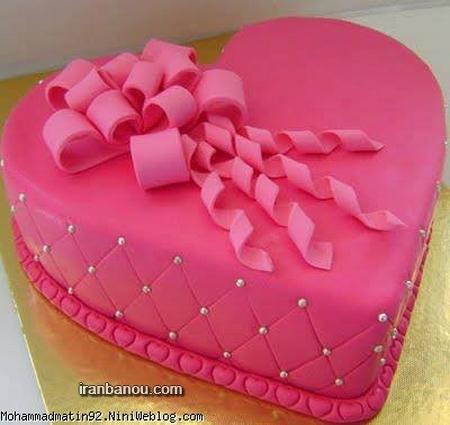 کیک تولد خانگی