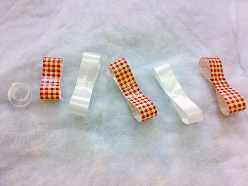 روبان کاغذی برای جعبه,آموزش سبزه هفت سین مدل جعبه کادو
