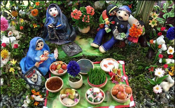 آموزش سفره آرایی هفت سین عید نوروز 1396