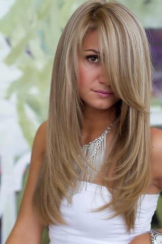 رنگ مو بلوند,رنگ مو نسکافه ای,مدل رنگ و مش