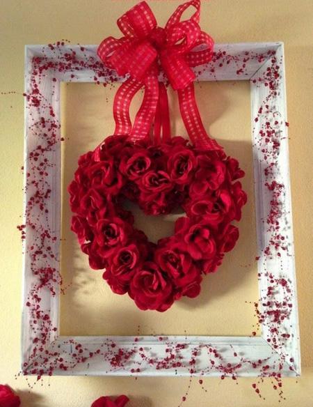تزیین دیوار برای ولنتاین, تزیینات زیبای روز عشق