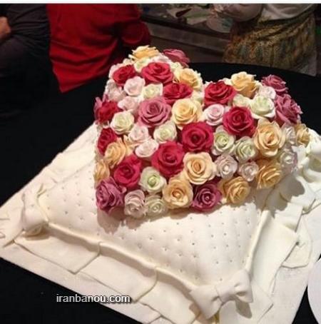عکس عاشقانه ترین کیک تولد,مدل کیک تولد برای شوهرم