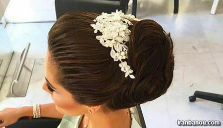 مدل مو دخترانه برای عروسی