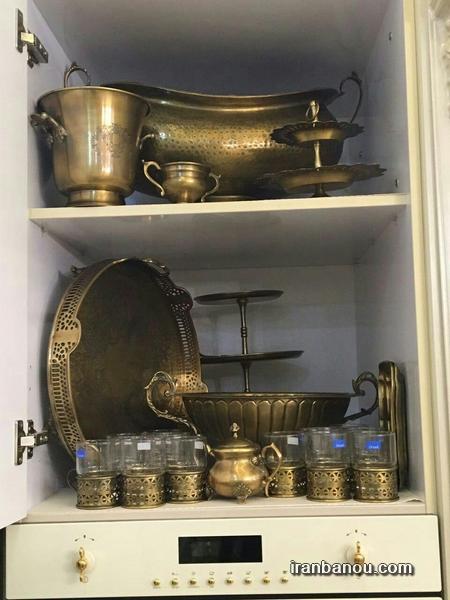 تزیین اشپزخانه عروس,تزیین دستشویی عروس