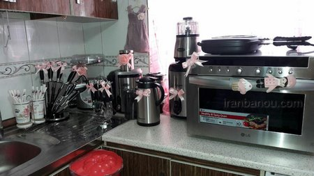 تزیینات آشپزخانه عروس