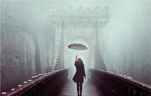 عکس نوشته های بارانی عاشقانه