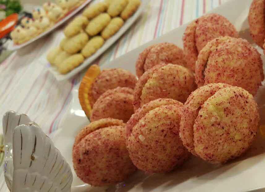 فیلم طرز تهیه شیرینی نارگیلی