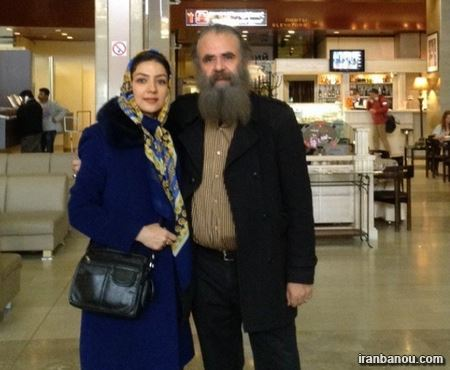 سارا صوفیانی وهمسرش