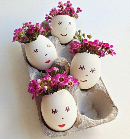 تخم مرغ رنگی هفت سین, تخم مرغ رنگی سفره هفت سین