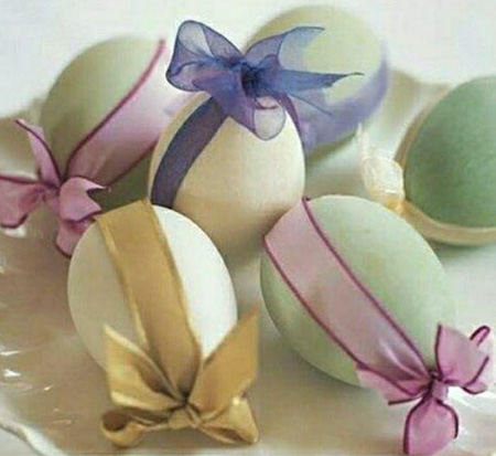 تخم مرغ رنگی سفره هفت سین, تزیینات تخم مرغ