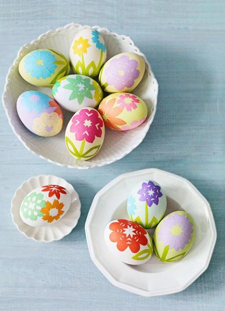 آموزش تزیین تخم مرغ هفت سین, رنگ آمیزی تخم مرغ هفت سین