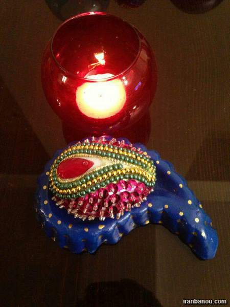 مدل شمع برای تزیین هفت سین 97