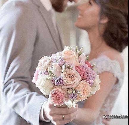 لباس برای عکس اسپرت عروس و داماد