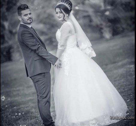 ست لباس حنابندان عروس و داماد