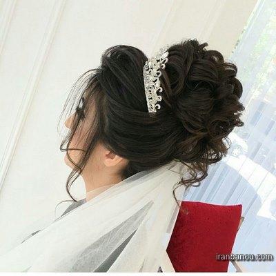 مدل شینیون عروس 2016