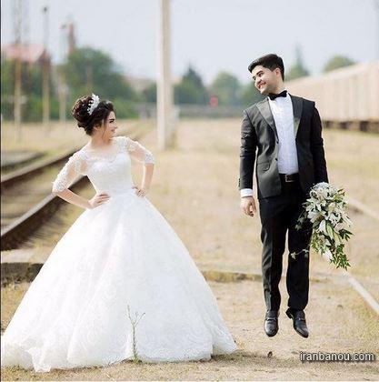 عکس عروس زیبا