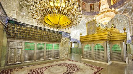 تصاویر ضریح امام حسین, عکس گنبد امام حسین