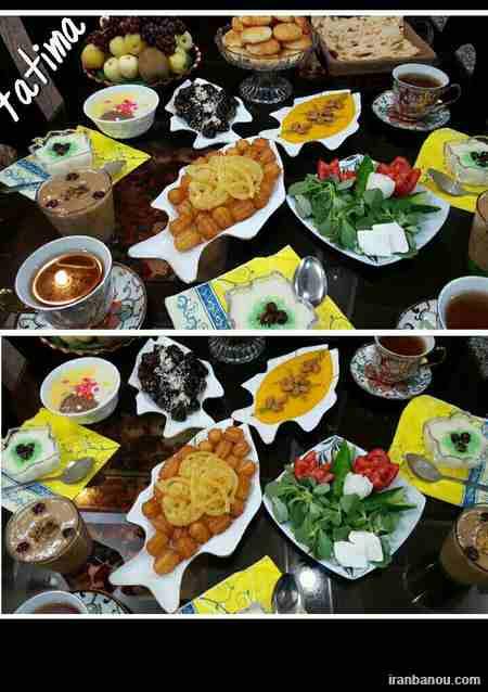 دسرهای مخصوص ماه رمضان,سفره آرایی ماه رمضان,شیرینی های مخصوص ماه رمضان