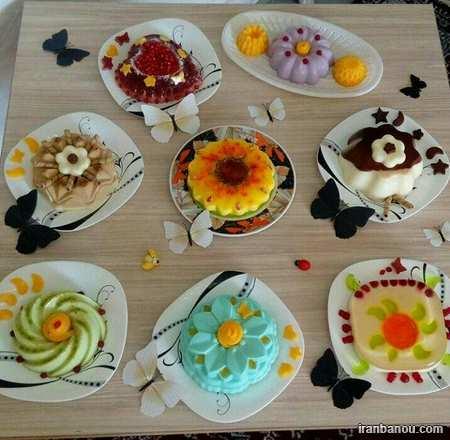 درست کردن ژله بستنی,ژله ساده و زیبا