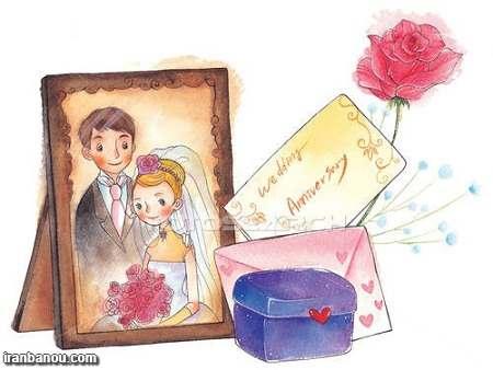 عکس برای تبریک سالگرد ازدواج,عکس فانتزی سالگرد ازدواج