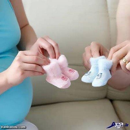 مدل عکس بارداری با همسر