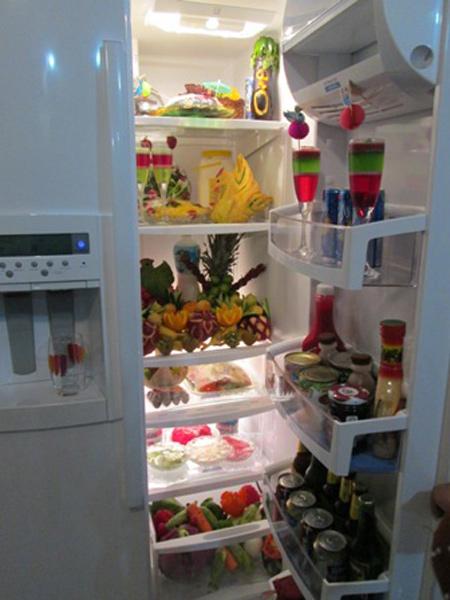 تزیین یخچال عروس, تزیینات یخچال عروس