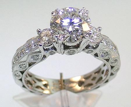 حلقه های شیک زنانه,مدل حلقه نامزدی