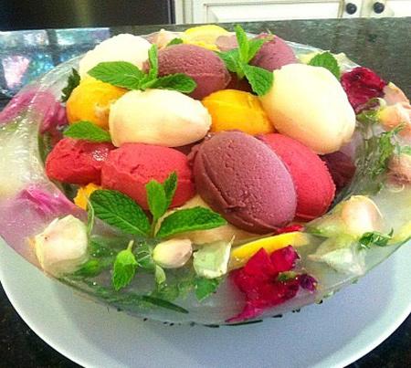 تزیین تخم مرغ یخچال عروس,تزیین جهیزیه عروس