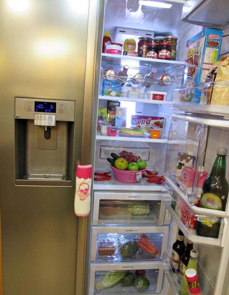 مدل تزیینات یخچال عروس,جدیدترین تزیینات یخچال عروس