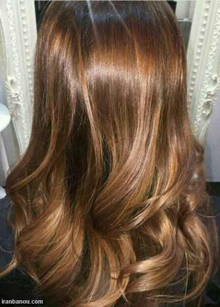 رنگ مو روشن بدون دکلره,رنگ موی روشن برای پوست سبزه