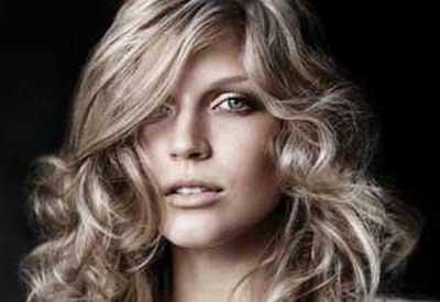 رنگ موی بلوند دودی روشن