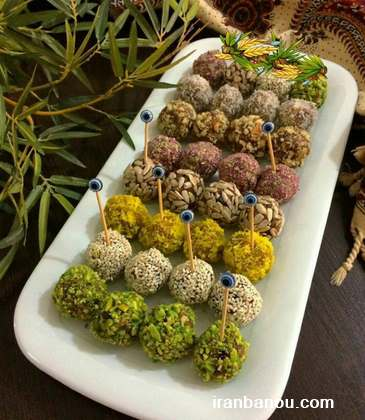 طرز تهیه توپک های پنیری برای سفره افطار در ماه رمضان