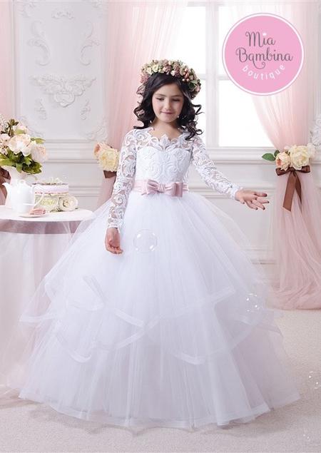 مدل پیراهن عروس بچه گانه,لباس عروس دخترانه