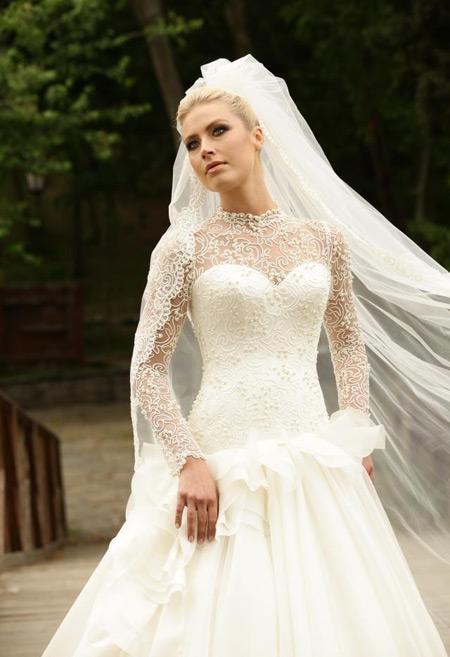 لباس عروس پوشیده,لباس عروس