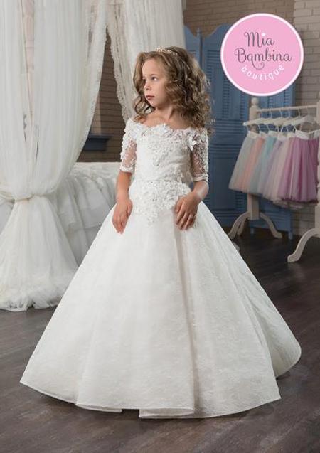 لباس عروس دخترانه, لباس مجلسی دخترانه