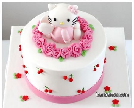 عکس کیک تولد عاشقانه,عکس کیک تولد زیبا