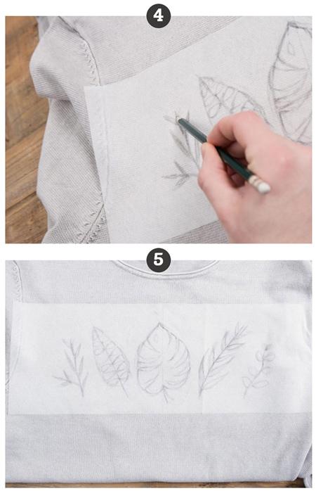 طرز گلدوزی روی لباس های بافتنی,وسایل لازم برای گلدوزی لباس بافتنی