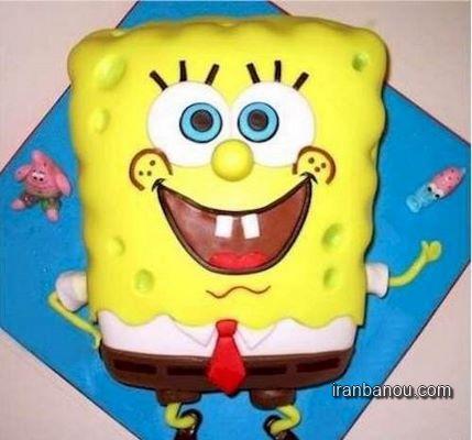 کیک تولد زیبا برای بزرگسال