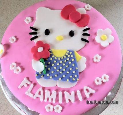 عکس کیک تولد دخترانه شیک