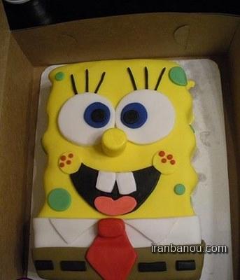 عکس کیک تولد فانتزی