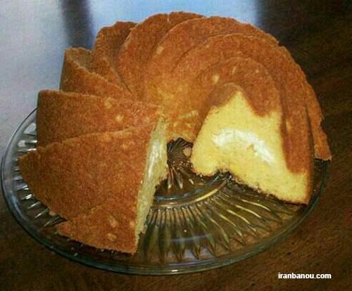 کیک ساده,طرز تهیه خامه کیک