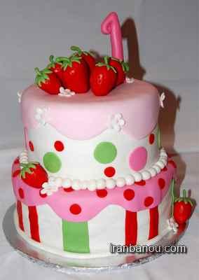عکس کیک تولد فانتزی,عکس کیک تولد عاشقانه فانتزی