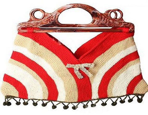 مدل کیف بافتنی قلاب بافی,مدل کیف بافتنی جدید,کیف بافتنی دخترانه,مدل کیف بافتنی خارجی