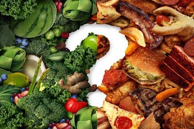 عادات تغذیه ای نامناسب, غذاهای کم ارزش
