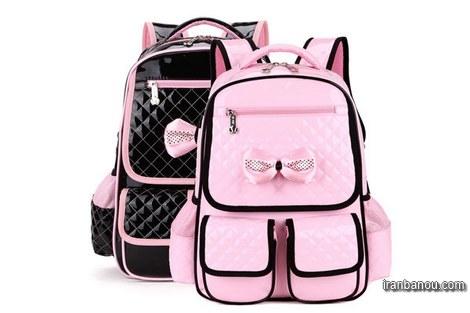 مدل کیف مدرسه دخترانه دبیرستانی