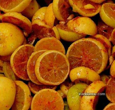 طرز تهیه ترشی لیمو ترش